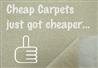 cheap carpets just got cheaper